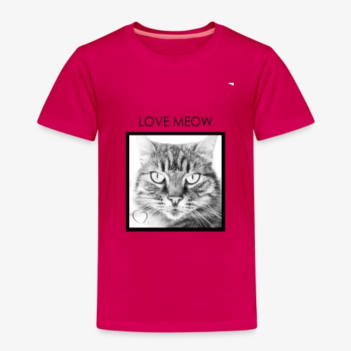 LOVEMEOW - Kids' Premium T-Shirt