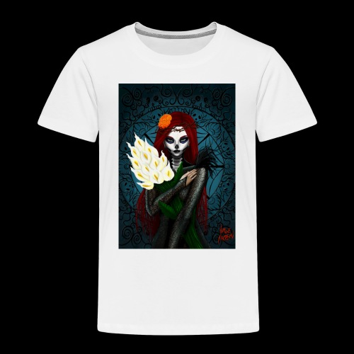 Death and lillies - Kids' Premium T-Shirt
