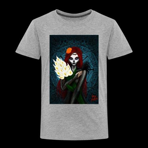 Death and lillies - Kids' Premium T-Shirt