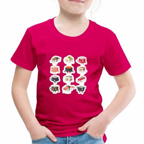 sushi - Maglietta Premium per bambini