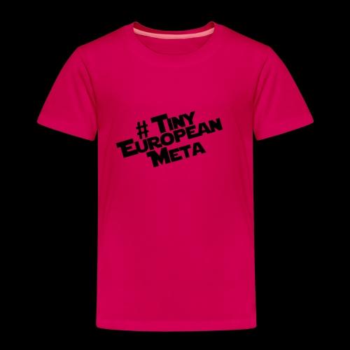 TEM Black - Kids' Premium T-Shirt