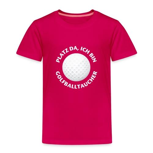 Golfballtaucher Golf Geschenk für Golfer - Kinder Premium T-Shirt
