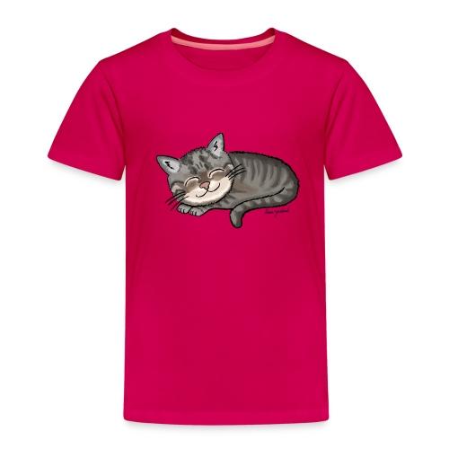 Kätzchen Lissy (sleep) - Kinder Premium T-Shirt
