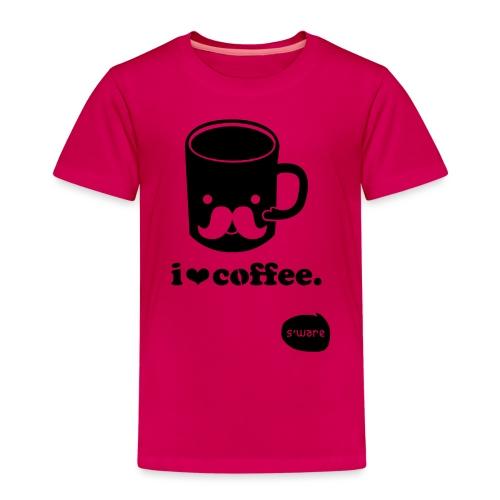 i love coffee - Kinder Premium T-Shirt