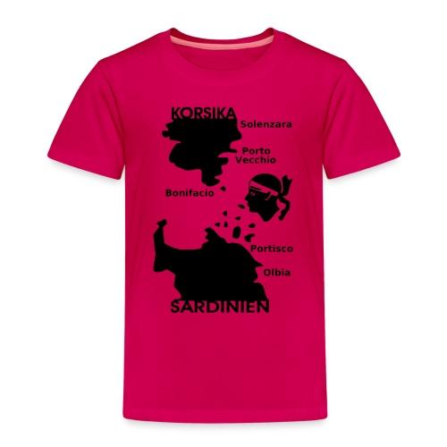 Korsika Sardinien Mori - Kinder Premium T-Shirt