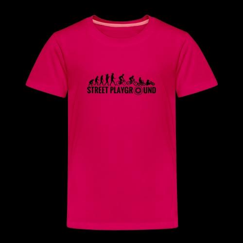 StreetPlayground Logo - Kinder Premium T-Shirt