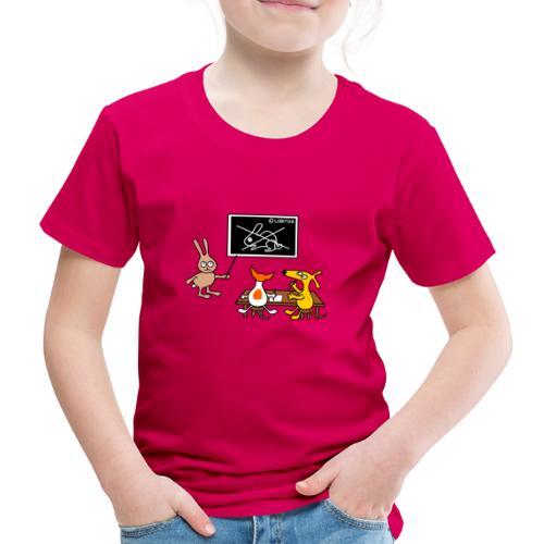 Hundeschule - Kinder Premium T-Shirt