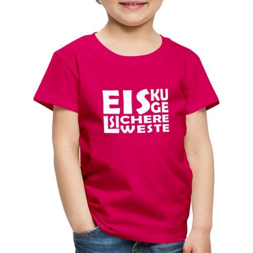 Eiskugelsichere Weste - Kinder Premium T-Shirt
