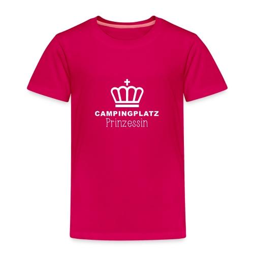 Campingplatzprinzessin - Kinder Premium T-Shirt