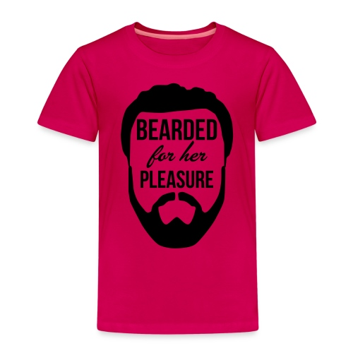Bearded for her pleasure - Kids' Premium T-Shirt