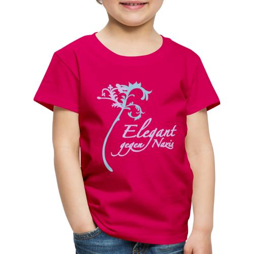 Elegant gegen Nazis - Kinder Premium T-Shirt