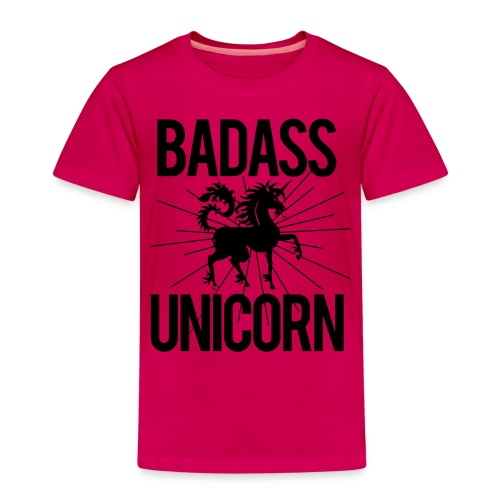 Badass Unicorn - Kids' Premium T-Shirt