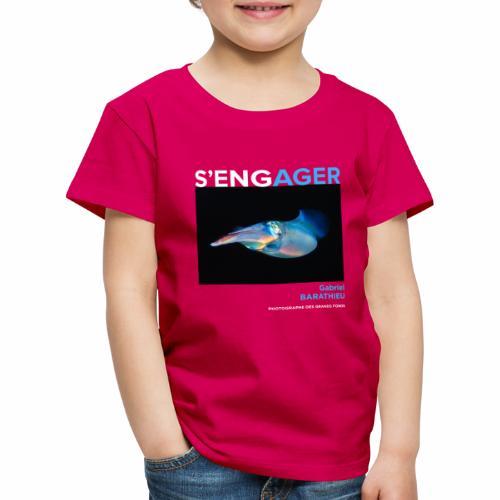 1 Achat = 1 Don à l'association Deep blue explore - T-shirt Premium Enfant