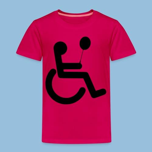 Baloonwheelchair2 - Kinderen Premium T-shirt