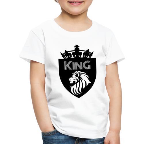 king - T-shirt Premium Enfant