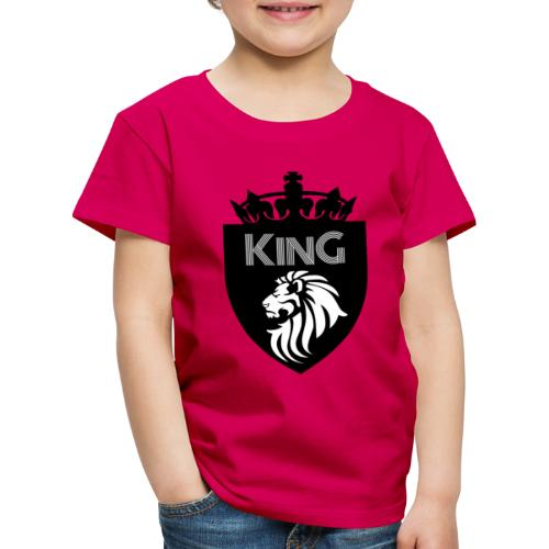 king - T-shirt Premium Enfant