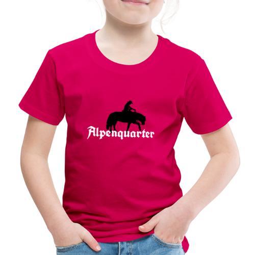 Alpenquarter_Trail02 - Kinder Premium T-Shirt