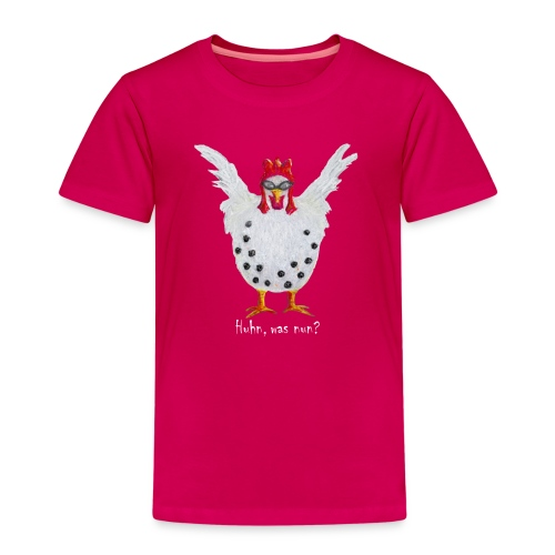 Huhn, was nun? Lebenskunst-edition 60 - Kinder Premium T-Shirt