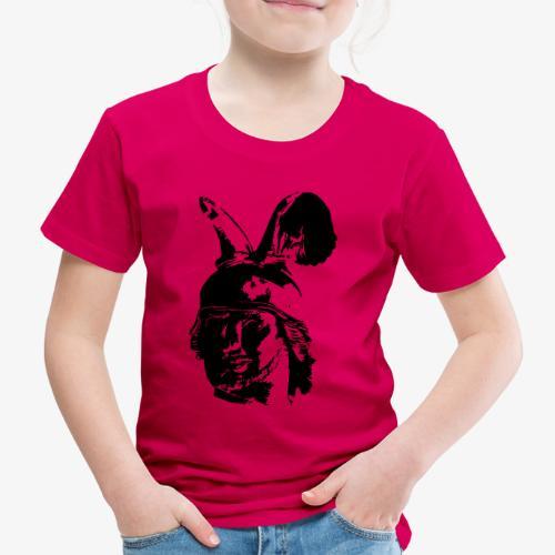 Kopf des Hermannsdenkmals - einfarbig, schlicht - Kinder Premium T-Shirt