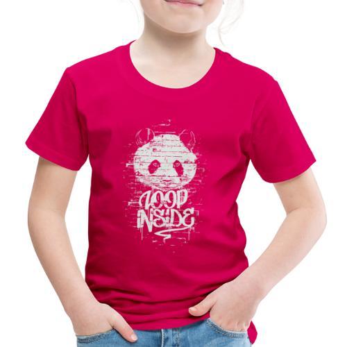 Graffiti Panda Inside - Kinder Premium T-Shirt