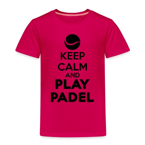 Keep Calm and Play Padel - Camiseta premium niño