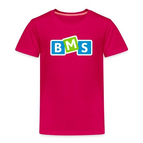 BMS origineel 3kleur outline - Kinderen Premium T-shirt
