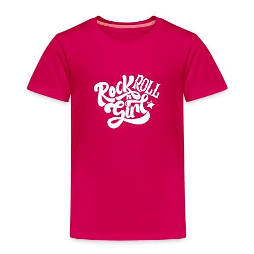 Rock n Roll Girl - Lasten premium t-paita