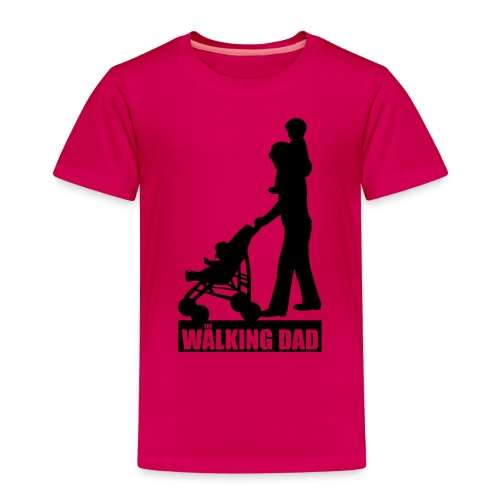 Walking Dad 2 huckepack - Kinder Premium T-Shirt