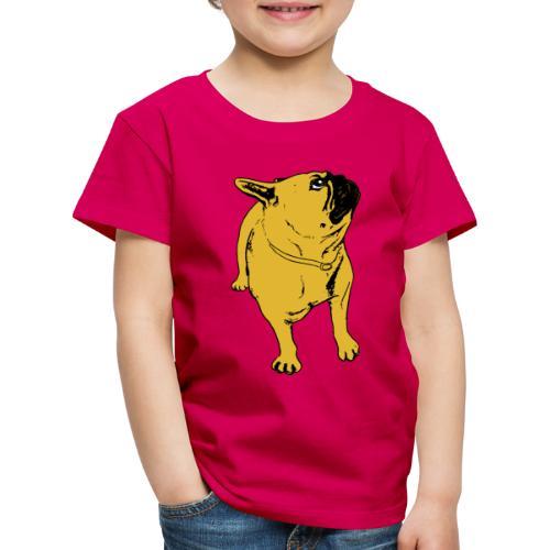 Ruskesnusk - Premium T-skjorte for barn