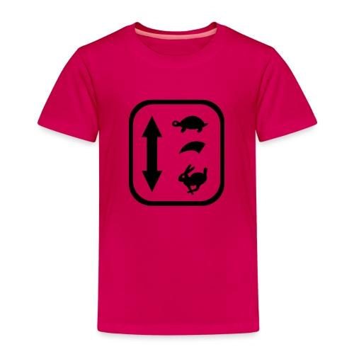 traktor schaltung - Kinder Premium T-Shirt