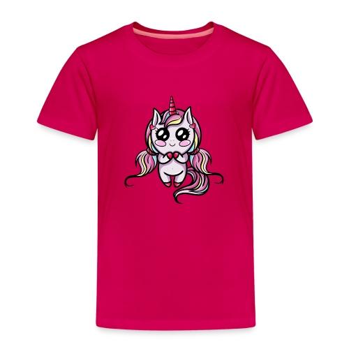 Licorne Kawaii - T-shirt Premium Enfant