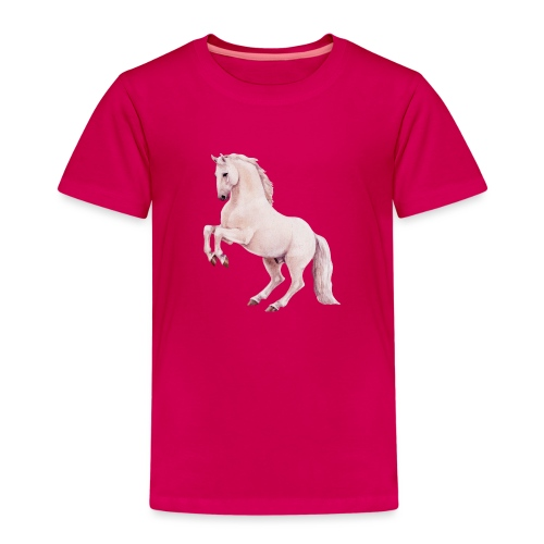 White stallion - Kinder Premium T-Shirt