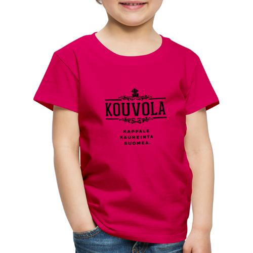 Kouvola - Kappale kauheinta Suomea. - Lasten premium t-paita