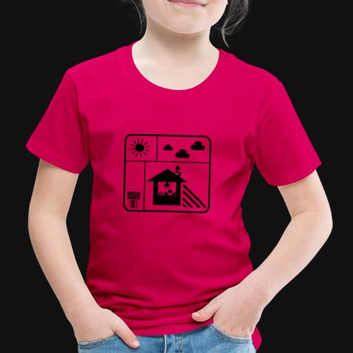 Happy White Balance - Kinder Premium T-Shirt