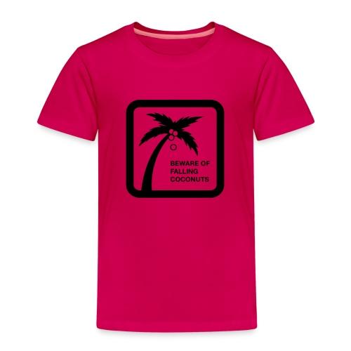 Falling Coconut - Kinder Premium T-Shirt