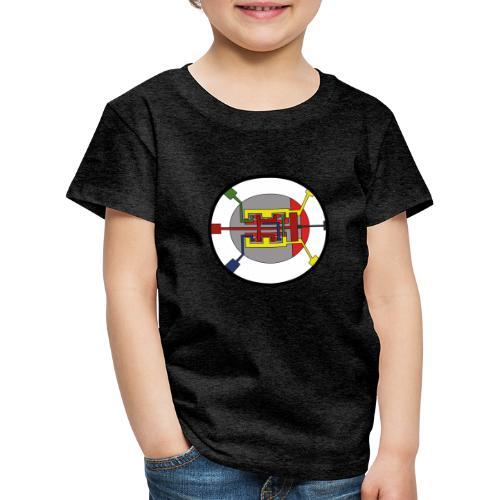 JackJohannes Hemp's Oscillator - Kinderen Premium T-shirt
