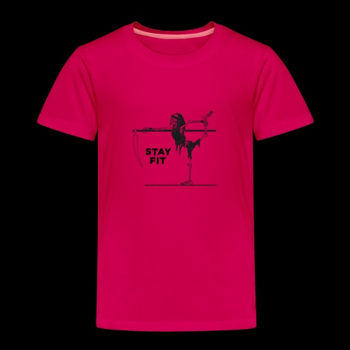 Stay Fit - Kinder Premium T-Shirt