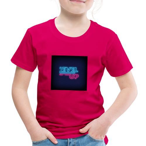 level up neon signboard 118419 1291 - Børne premium T-shirt