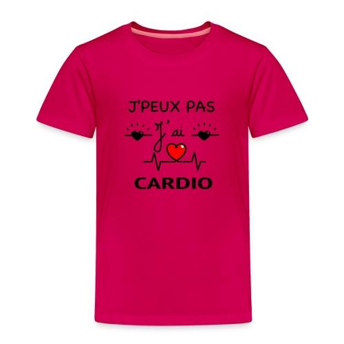 J'PEUX PAS J'AI CARDIO - T-shirt Premium Enfant