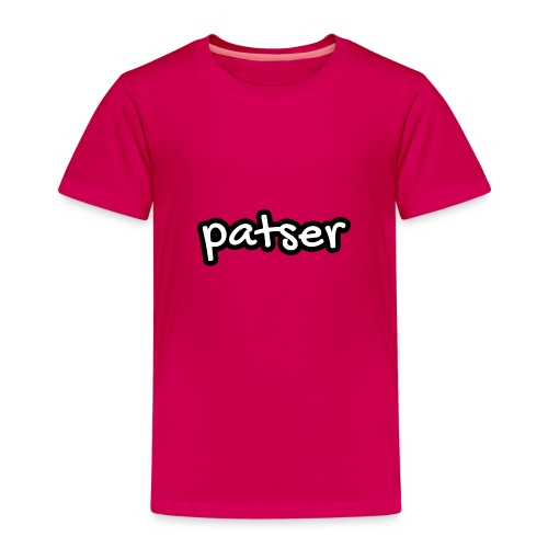 Patser - Basic White - Kinderen Premium T-shirt