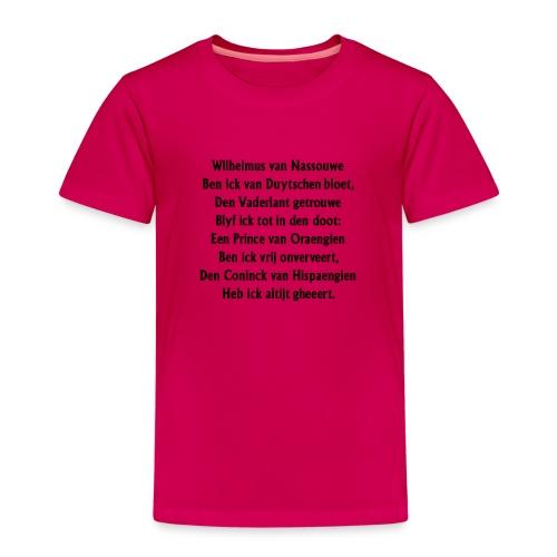 wilhelmus - Kinderen Premium T-shirt