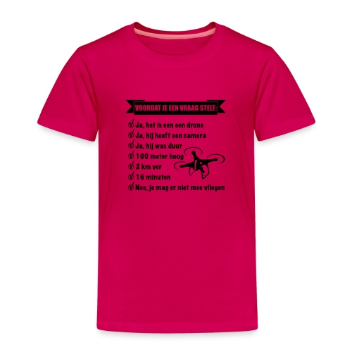 De Drone vlieger - Kinderen Premium T-shirt