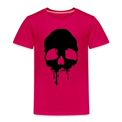 black skull - Kinder Premium T-Shirt