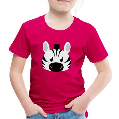 Zebra Zoe - Kids' Premium T-Shirt