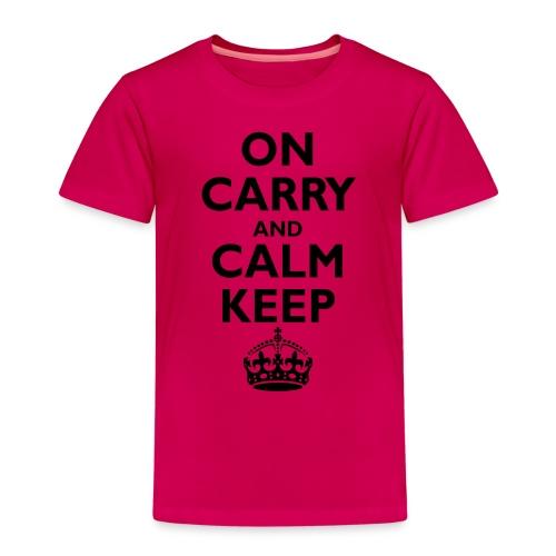 Keep calm upside down - Kids' Premium T-Shirt
