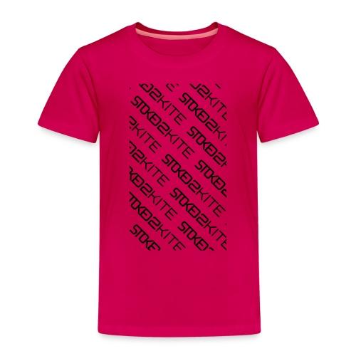 stoked2schuinetekst - Kinderen Premium T-shirt