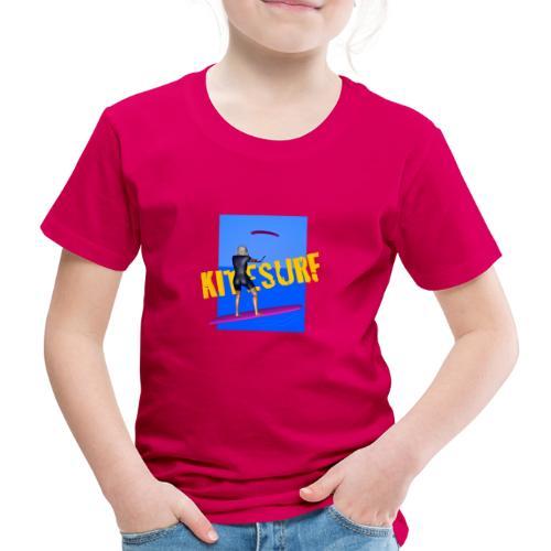 KITESURF FEMME - T-shirt Premium Enfant
