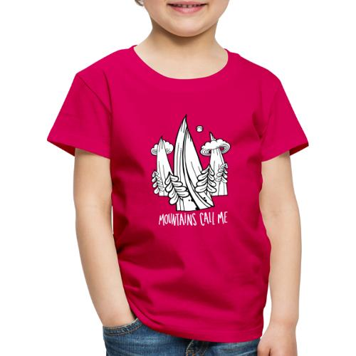 montagnes - T-shirt Premium Enfant