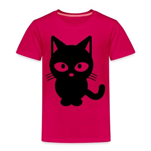 Styled Black Cat - T-shirt Premium Enfant