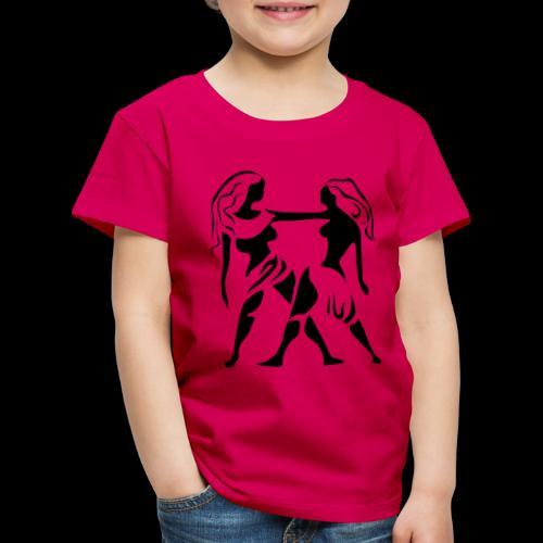 STERNZEICHEN ZWILLING - Kinder Premium T-Shirt